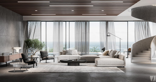 104 Luxurious Living Rooms Luxury By The Ocean