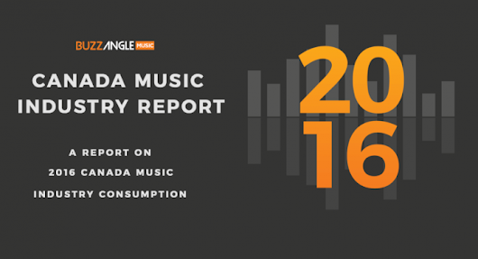Buzz Angle's 2016 Canada Music Industry Report  | FYIMusicNews
