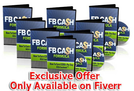 I will give you Facebook Cash Formula Ebook