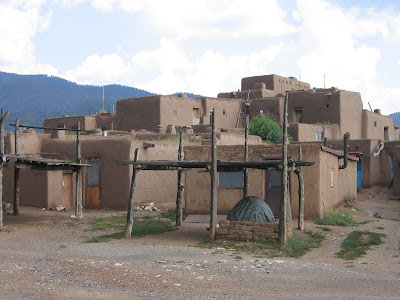 South House at Taos Pueblo