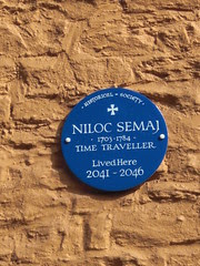 Niloc Semaj, time traveller