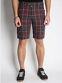 Ts(s) Linen Check Shorts 1