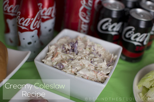 Quick & easy creamy coleslaw for gameday celebrations – Behind The Studio