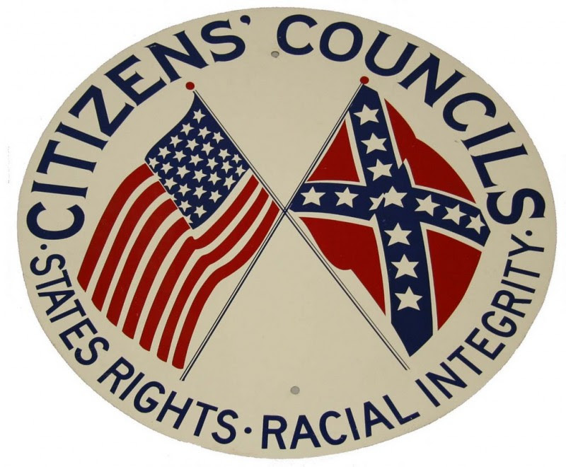 Image result for White Citizens Councils
