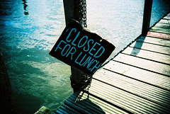Closed for Lunch