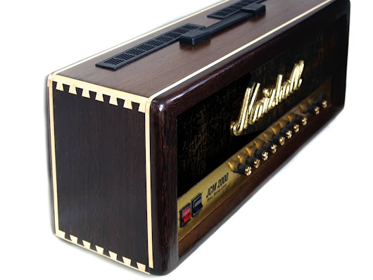 Customized Marshall JCM 2000 DSL100 Guitar Amp Head Wenge