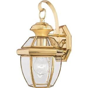 Amazon.com: Quoizel NY8315B Newbury Light Outdoor Wall Lantern