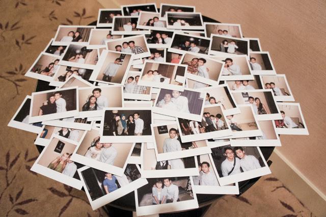 polaroid birthday pictures randy
