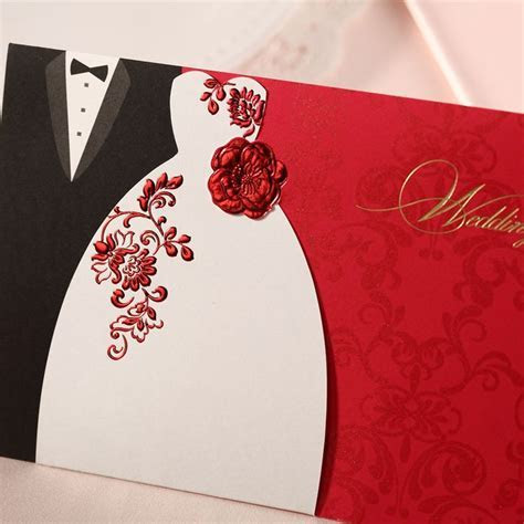 25  best ideas about Red wedding invitations on Pinterest