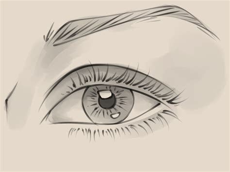 draw  realistic female eye  steps  pictures