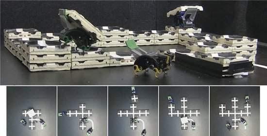 Robôs-cupins constroem sem projetos e sem engenheiros