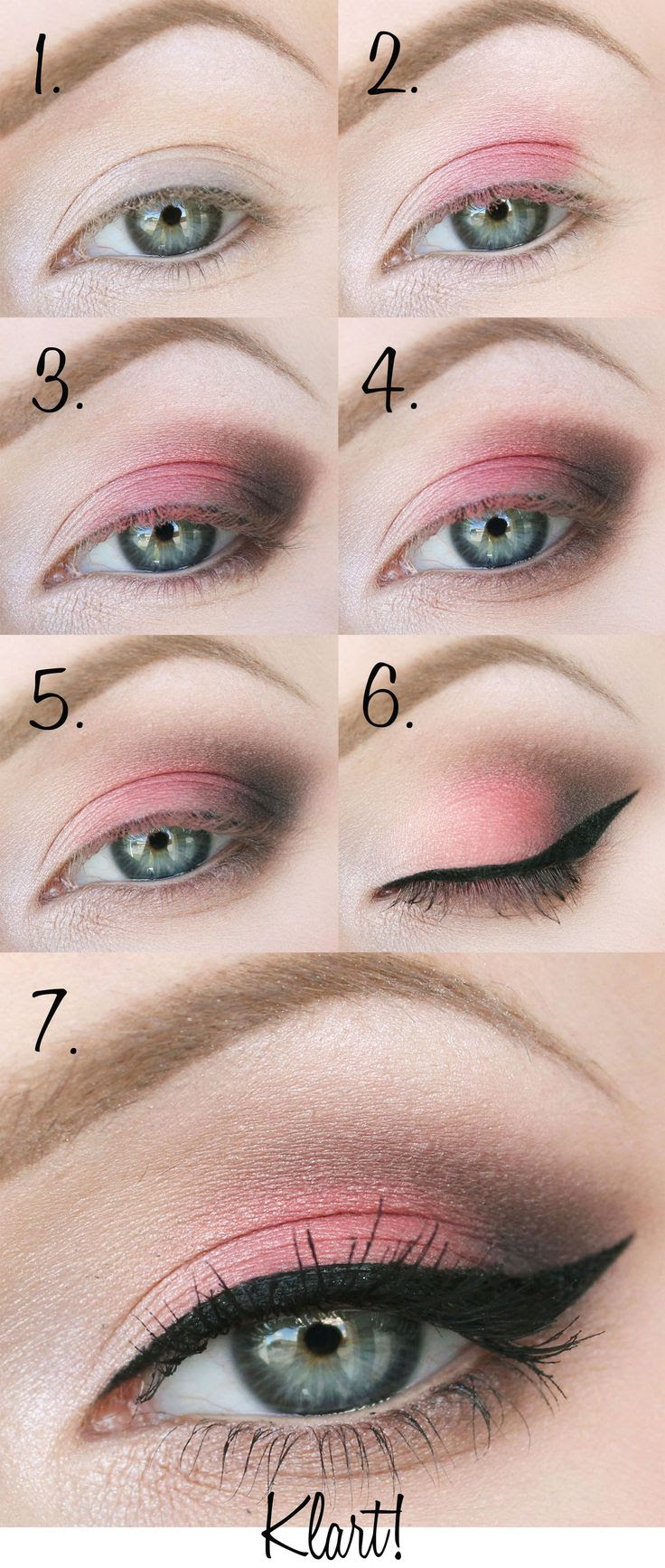 Step-by-step tutorial by beauty blogger Helena Rönnblad using shade 4 of Blueberry Longwear Eyeshadow Palette. #eyeshadow #tutorial #lumene