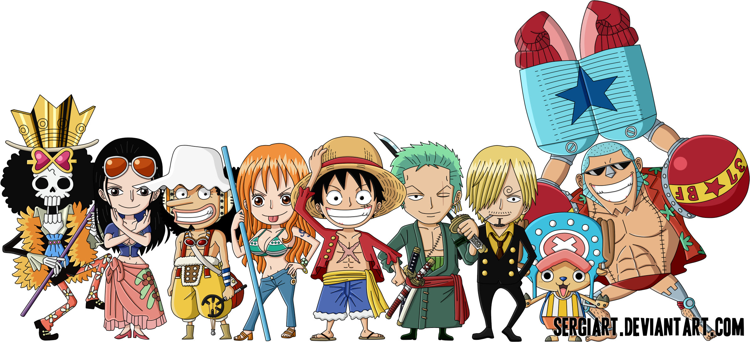 One Piece Chibi Wallpaper 60 Images