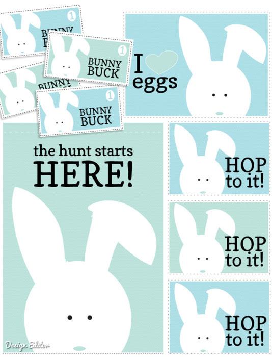 Free Easter Egg Hunt Printables
