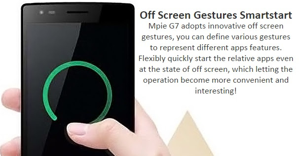 Off Screen Gesture
