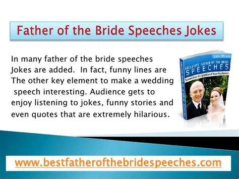 father   bride speeches jokes