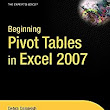 Pivot Tables in Microsoft Excel: Links - Peltier Tech Blog