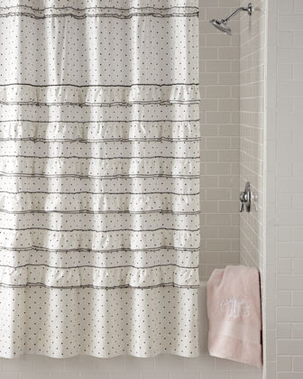Cotton Shower Curtain | Neiman Marcus | Cotton Shower Drape
