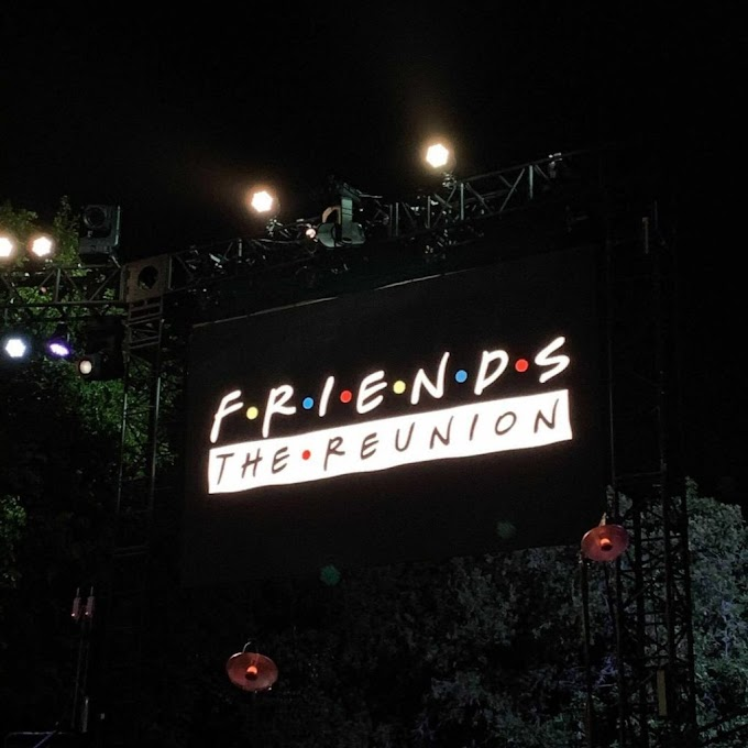 LOOK: 'Friends: The Reunion' is a wrap!