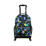 JWorld New York Sunslider Spinner Backpack, Adult Unisex, Size: OSFA, Cubes