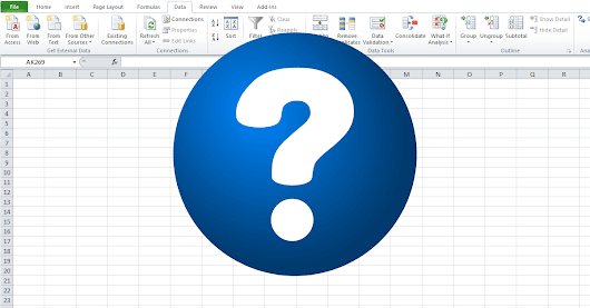 Excel Question & Answer Forum