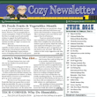 June's Cozy Newsletter 2015