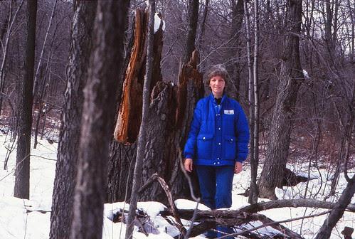 IMG_00013_Linda_at_Oline_Lake_Nature_Preserve_March_1983