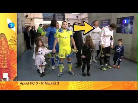 video que muestra al portero Iker Casillas poniendole un moco a un niño