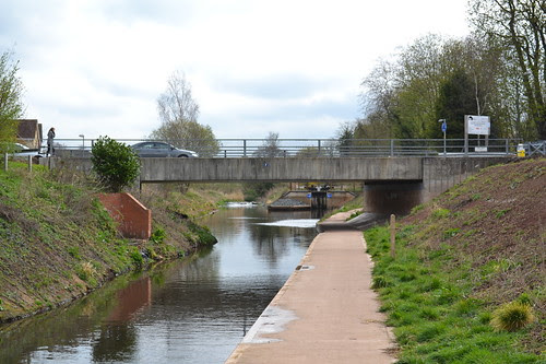 Swan Drive Bridge 7, Droitwich Junction Canal, Droitwich Spa