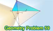 Problema de Geometría 59: Triangulo rectángulo, Equilatero, Puntos medios.