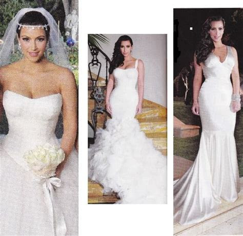 17 Best images about Wedding Dresses on Pinterest   Kim