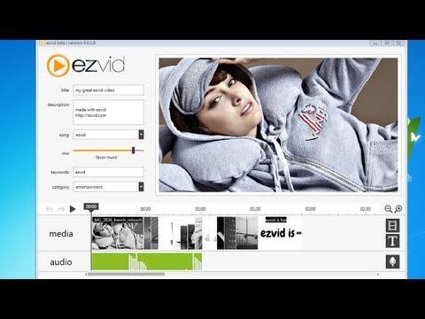 Ezvid : un logiciel gratuit pour créer facilement des vidéos et des diaporamas