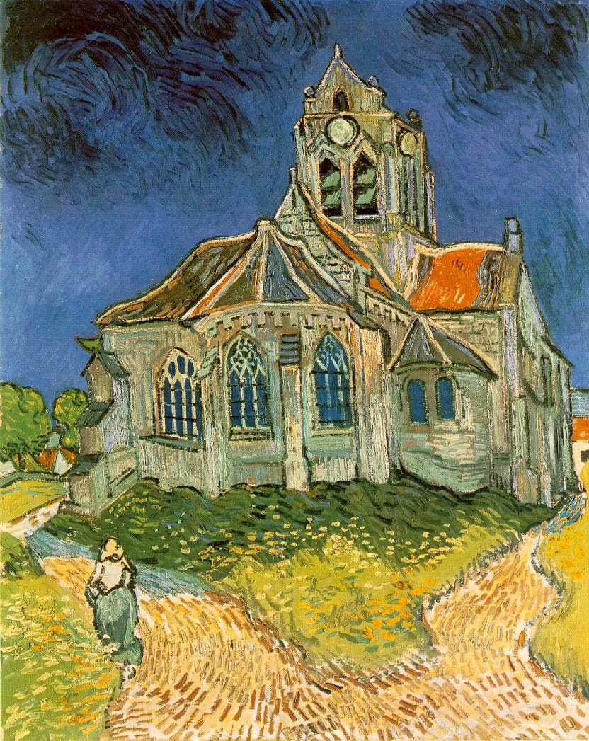 Vincent Van Gogh Church Painting
