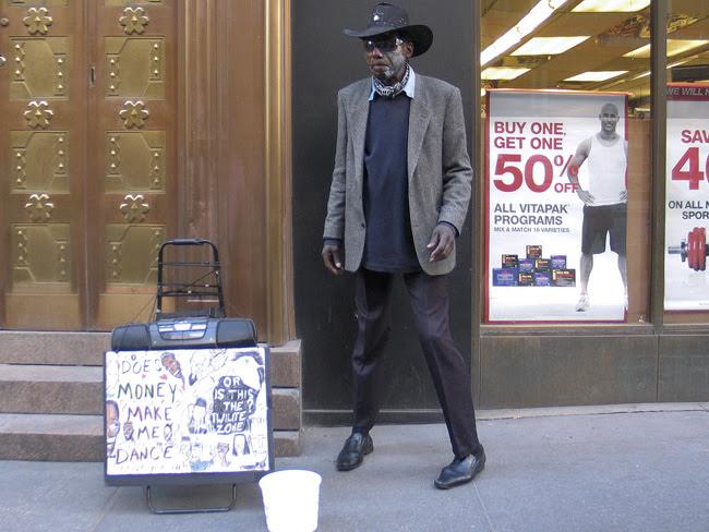 Cowboy dancer, NYC