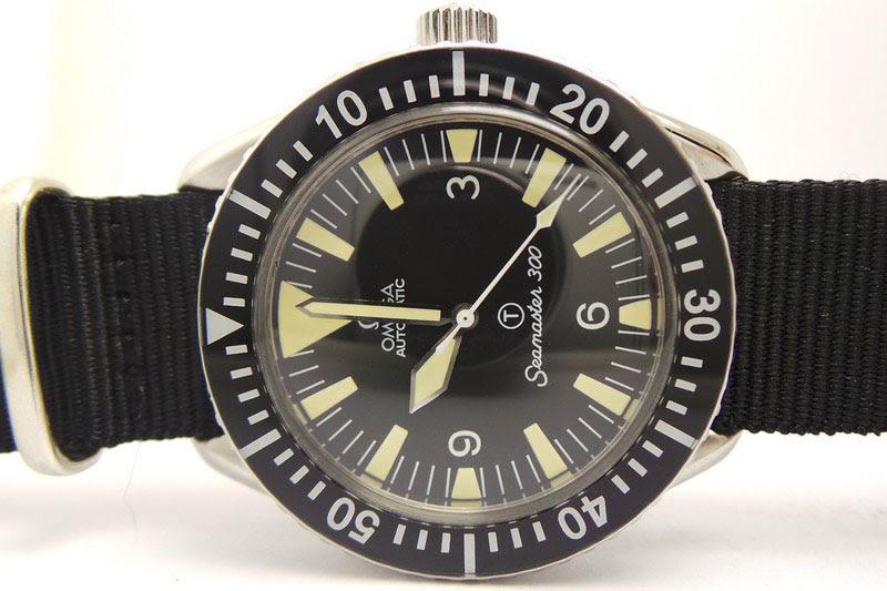 Omega Seamaster 300 Dial