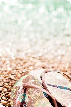 Flip Flops on the Beach!