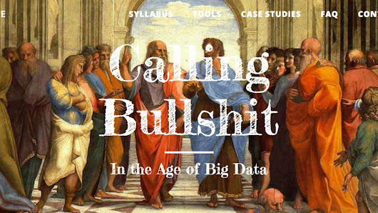 In age of alternative facts, a scholarly course on calling out crap