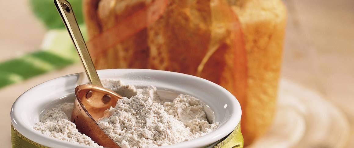 Homemade Wheat Bread Machine Mix recipe from Betty Crocker