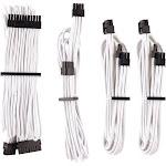 CORSAIR Premium individually sleeved starter kit (Type 4, Generation 4) Power cable kit - 2 ft