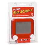 Pocket Etch A Sketch - Arts & Crafts for Ages 3 to 10 - Fat Brain Toys