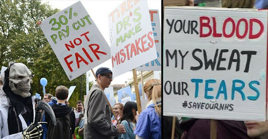 Junior doctors told to prepare for strike action 2016 -  what is the chance (survey) - MEDLINES - Medical Headlines