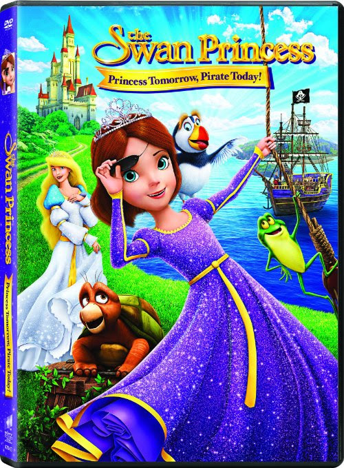 The Swan Princess: Princess Tomorrow, Pirate Today DVD Giveaway - Just Marla