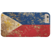 Rough Aged Vintage Filipino Flag iPhone 6 Plus Case