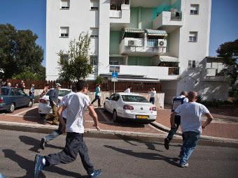 Взрывы на израильско-палестинской границе. Фото ©AFP
