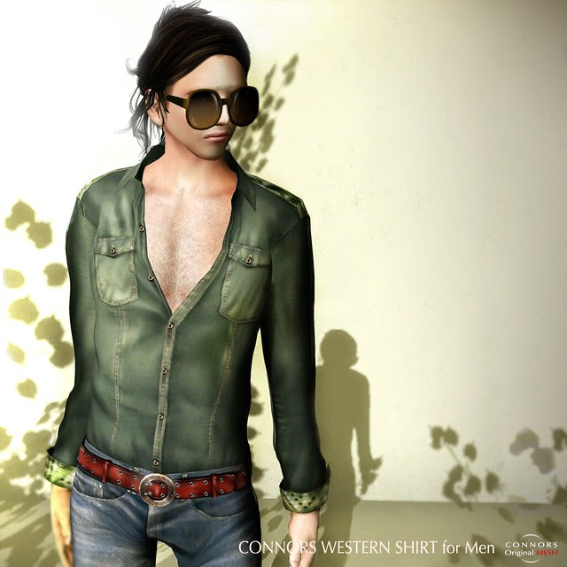 CONNORS Western Shirt for Men AD