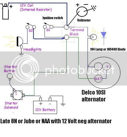 Ford 8n 6 Volt Wiring Gota Wiring Diagram