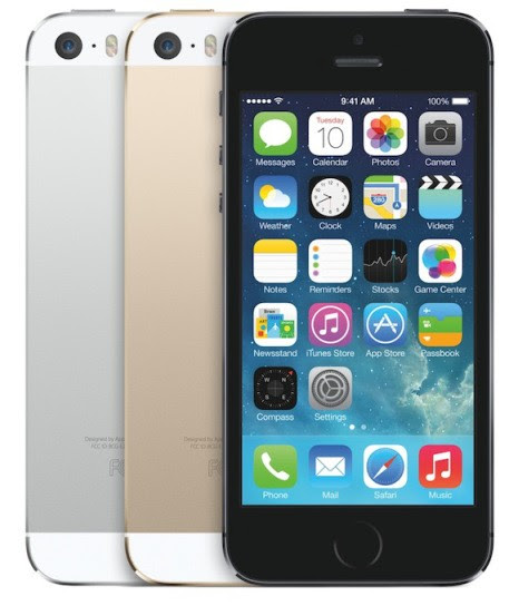 iPhone 5s tops sales at big US carriers