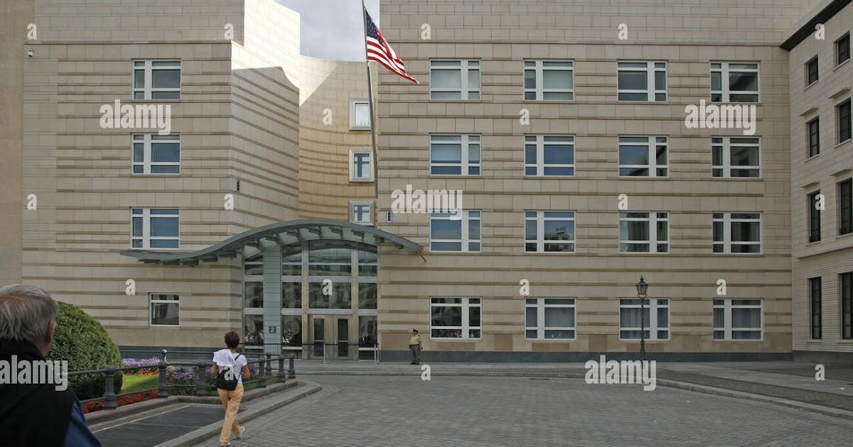 American Embassy Frankfurt