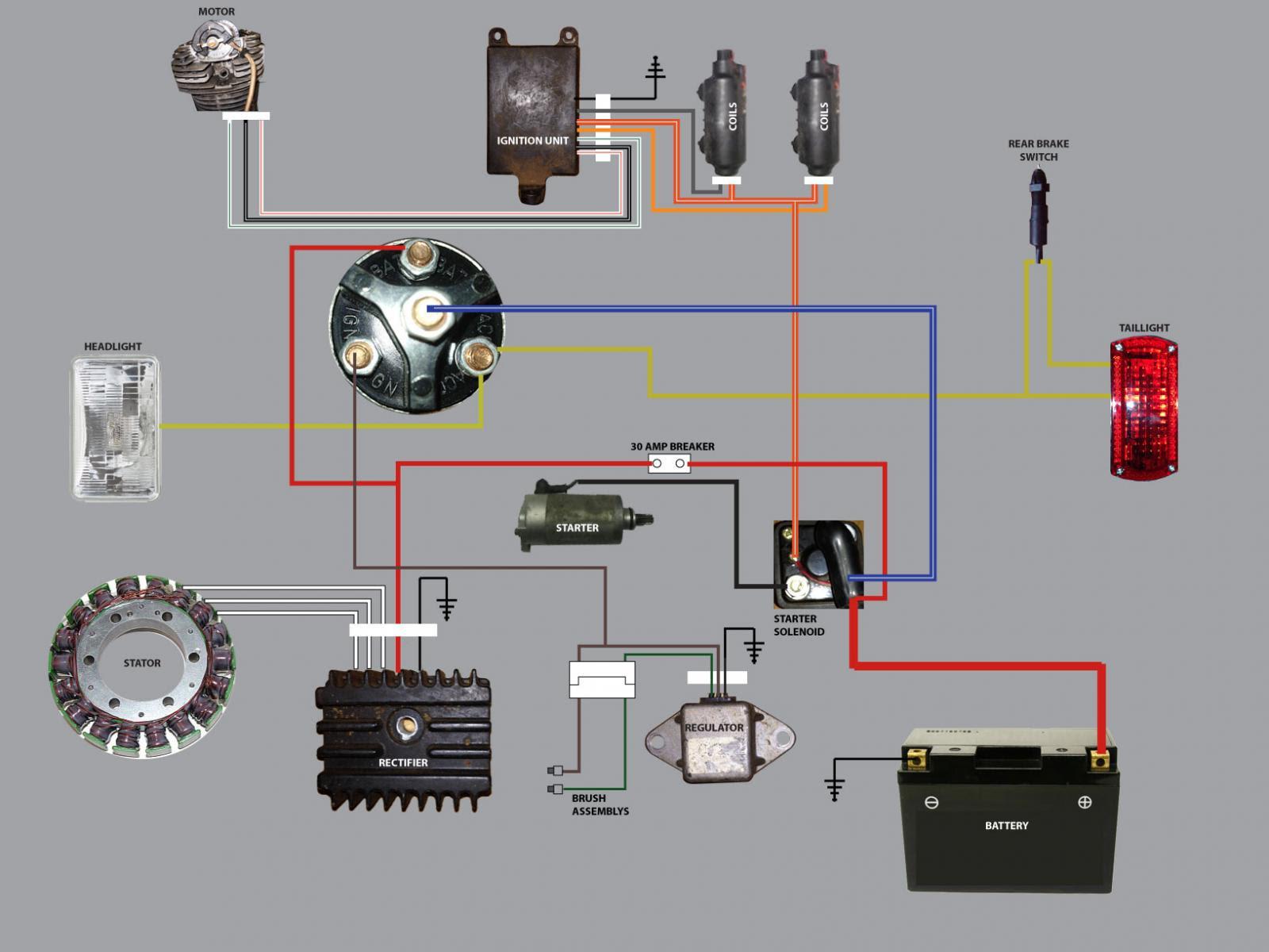 Xs400 Wiring Diagram - Wiring Diagram Schemas