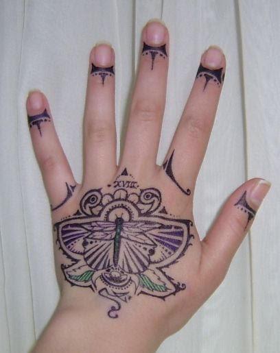temporary tattoo: dragonfly - dragonfly tattoo